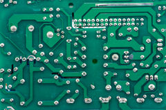 Electronics print pattern. Electronics broad is a part of automation control Stock Photos