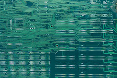 Electronics print pattern Royalty Free Stock Images