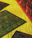 Electronics - Printed Circuit Boards Stock Photos