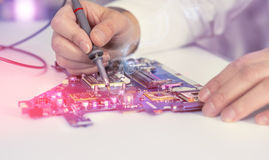 Electronics repair service Royalty Free Stock Photography