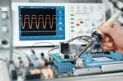 Electronics repair Royalty Free Stock Photos