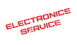 Electronics Service rubber stamp Royalty Free Stock Photo