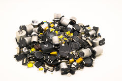 Electronics SMD Components Stock Image