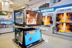 Electronics store in Hong Kong Stock Photos