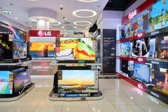 Electronics store in Hong Kong Royalty Free Stock Image