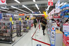 Electronics store in Japan Stock Photos