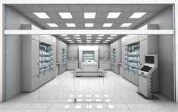 Electronics store room. Without people. Royalty Free Stock Photography
