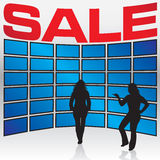 Electronics Store Sale Stock Image