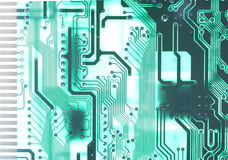 Electronics technology background Stock Photography