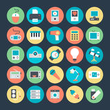 Electronics Vector Icons 1 Royalty Free Stock Photography