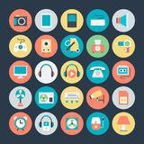 Electronics Vector Icons 2. Here is Electronics Vector Icons Set that are useful for web designers, graphic designers, eCommerce, web templates, blogs, android Royalty Free Stock Photography