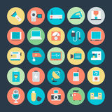 Electronics Vector Icons 3 Royalty Free Stock Photos