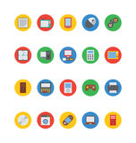 Electronics Vector Icons 1 Stock Photography