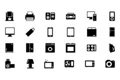 Electronics Vector Icons 1 Stock Photos