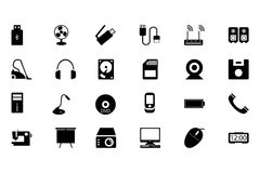 Electronics Vector Icons 2 Stock Photos