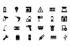 Electronics Vector Icons 4 Royalty Free Stock Photos