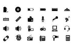 Electronics Vector Icons 3 Royalty Free Stock Photo