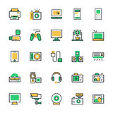 Electronics Vector Icons 1 Stock Photos