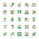 Electronics Vector Icons 3 Royalty Free Stock Images