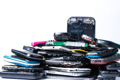 Electronics waste Royalty Free Stock Images