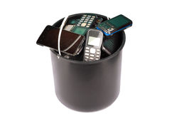 Electronics waste Royalty Free Stock Photography