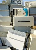 Electronics Wasteland Royalty Free Stock Photography
