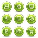 Electronics web icons Stock Image