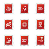 Electronics web icons set 2 Royalty Free Stock Photos