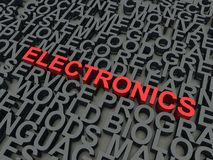 Electronics Royalty Free Stock Image