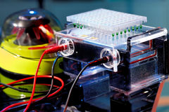 Electrophoresis chamber Stock Photos