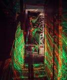 Electroregulatory lighting Arkivfoton