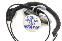 Electrostatic Discharge Wrist Strap Stock Photography
