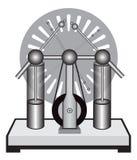 Electrostatic machine. Illustration of electrostatic machine on a white background Royalty Free Stock Photos