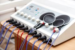 Electrostimulation Device in the medical field Stock Photography