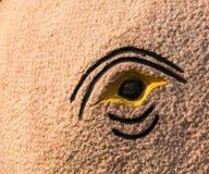 Elefantögonstaty Royaltyfri Foto