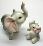 elefant πορσελάνη Στοκ Εικόνα