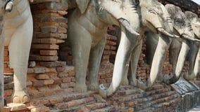 Elefant στο ναό Στοκ φωτογραφία με δικαίωμα ελεύθερης χρήσης