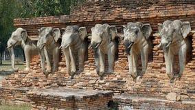 Elefant στο ναό Στοκ φωτογραφίες με δικαίωμα ελεύθερης χρήσης