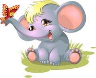 Elefant royaltyfri illustrationer