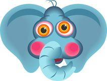 elefant vektor illustrationer