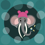 elefant 2 stock illustrationer