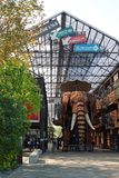 Elefant bei Les bearbeitet de l ` ile in Nantes maschinell Lizenzfreie Stockfotos
