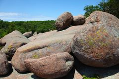 Elefant-Felsen-Nationalpark, Belleview, Missouri lizenzfreies stockbild