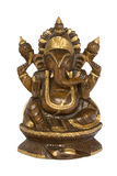 Elefant ging hinduistische Gottheit voran lizenzfreie stockfotografie