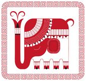 Elefant indien Photo stock