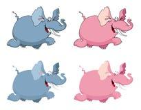 Elefant lustig vektor abbildung