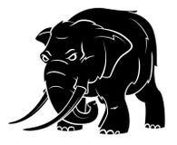 Elefant-Stamm lizenzfreie abbildung