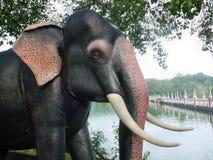 Elefant-Statue Lizenzfreie Stockfotografie