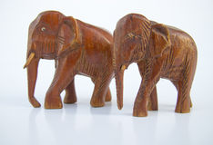 Elefant zwei Stockfotos