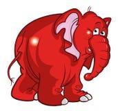 Elefantabbildung Stockbild
